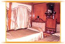 Palace On Wheels Twin Bedroom